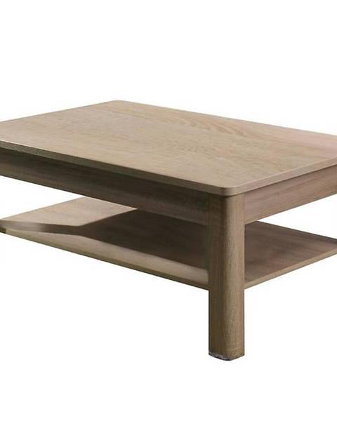 BAUMAX Konferenční stolek Fill 114 cm, dub sonoma / grafit