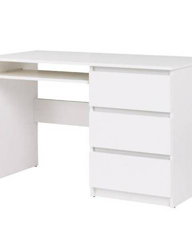 Psací Stůl Cosmo 110 cm Bílá