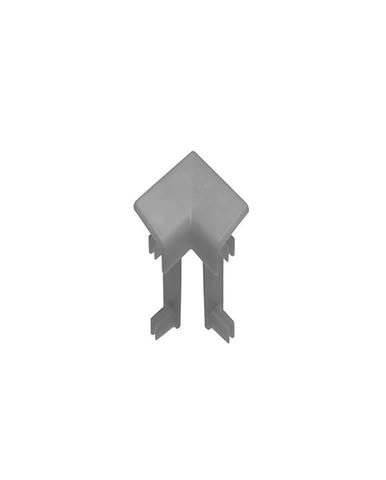 Rohová spojka vnitřní 1ks NWO 106 tmavě šedý