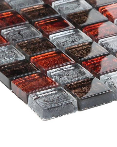 EURO STONE Mozaika Alaskarot braun grau metallic 57207 30x30x0,8