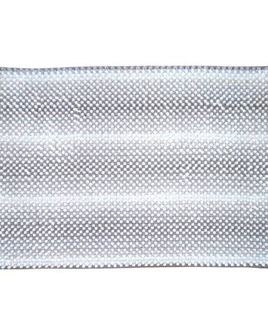 Kobereček Drop šedo-bílý 50x80cm