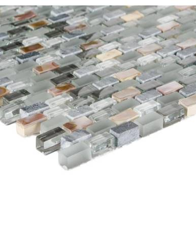 Mozaika 5th Avenue grey mix Seashell 78394 28,5x28,5x0,8