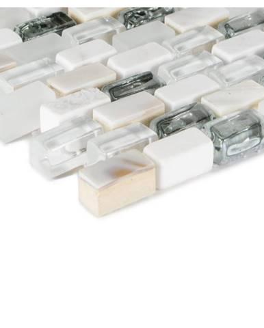 Mozaika 5th Avenue white mix Seashell 78400 28,5x28,5x0,8