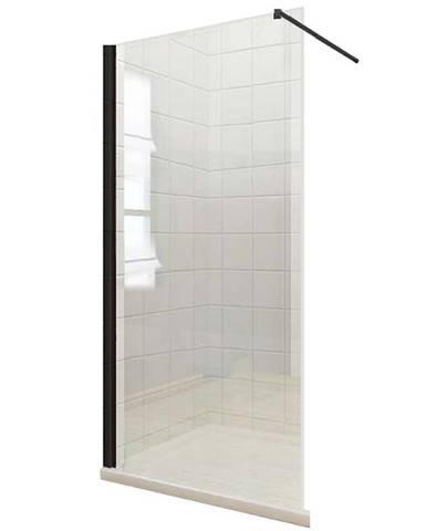 Sprchová zástěna WALK-IN Fiord 120 x 195 černý profil