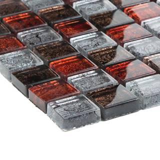 Mozaika Alaskarot braun grau metallic 57207 30x30x0,8