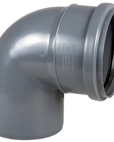 Koleno šedé 110 mm x 45