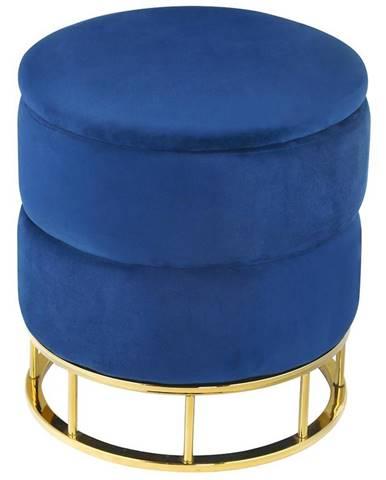 Taburet Muz -207 modrý
