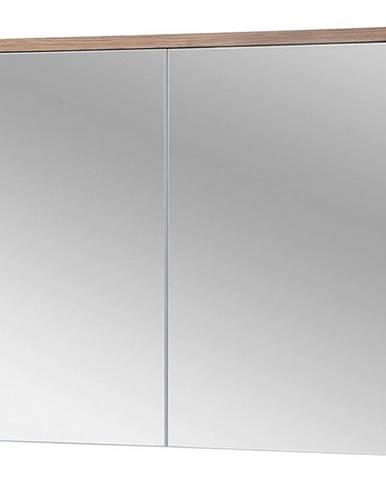 Koupelnová skříňka se zrcadlem Bali 2D0S 80