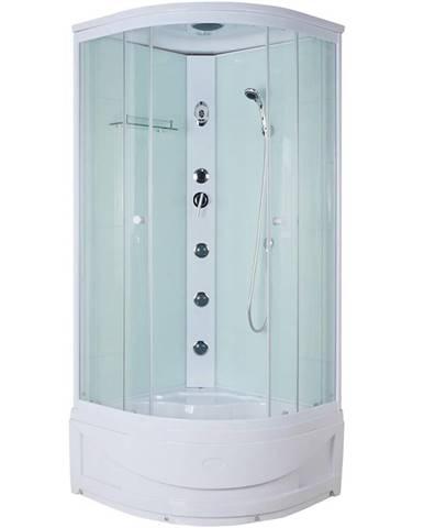 Sprchový box a hydromasáží Delos white 90/90/220