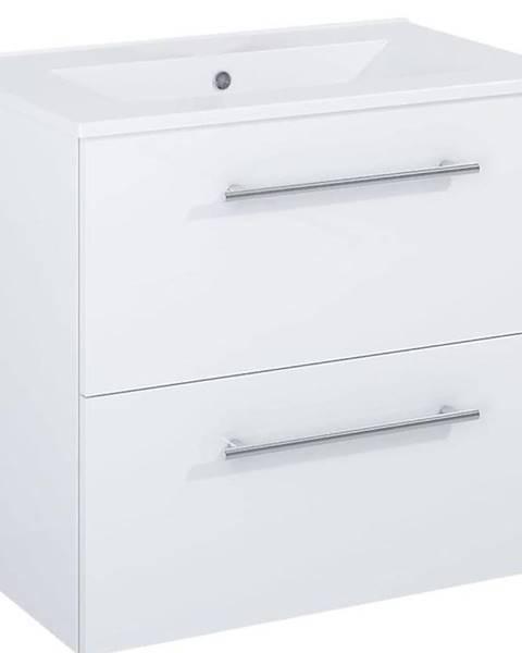 BAUMAX Skříňka s umyvadlem bílá Vento 0D2S 60