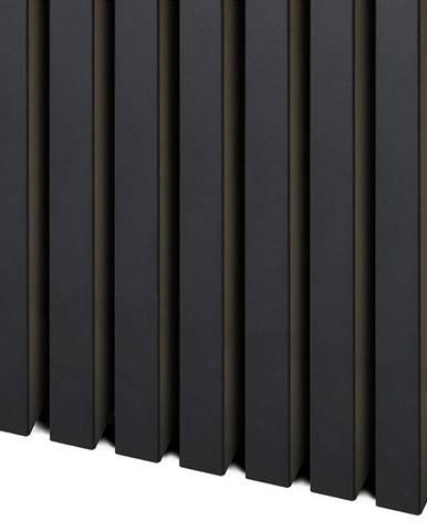 3D Dekorační lamely černý mat 2.75m