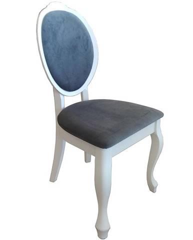 Židle W43 Bílá Mat