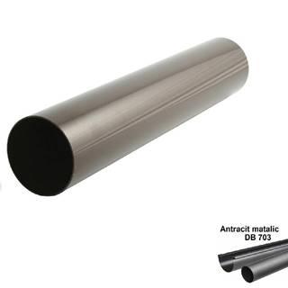 Svodová trubka antracit-metalic 53 mm/1 mb