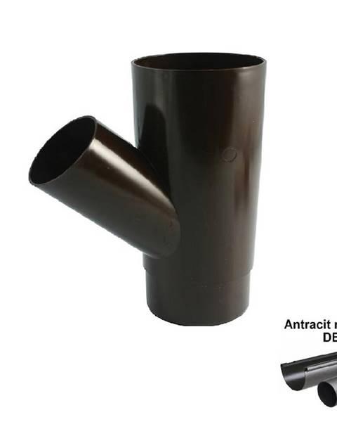 Marley Odbočka antracit-metalic 105 mm/45