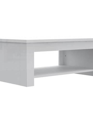 Konferenční Stolek Durt511-C04 Bílý / Bílý Lesk