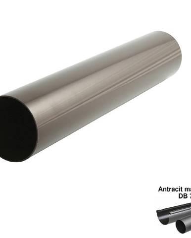 Svodová trubka antracit-metalic 75 mm/1 mb