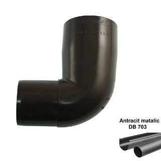 Koleno svodu antracit-metalic 105 mm/67