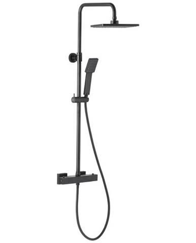 Logon Black dešťová sprcha s termostatickou baterií