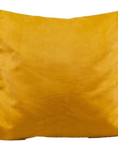 Dekorační polštář 45x45 Viktor hořčice