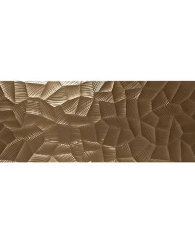 Nástěnný obklad Lux Bronze 40/120