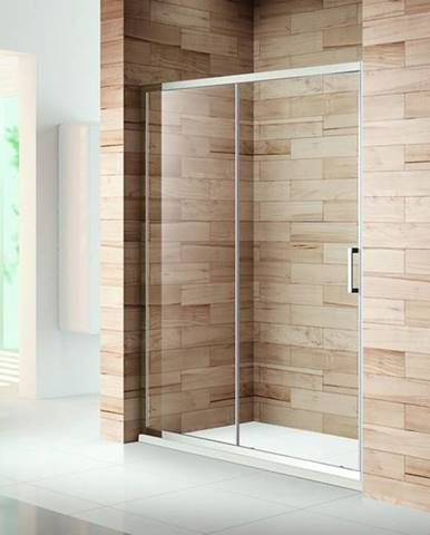 Sprchové Dvere Patio 120x195 Čiré-Chrom