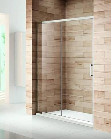 Sprchové Dvere Patio 140x195 Čiré-Chrom