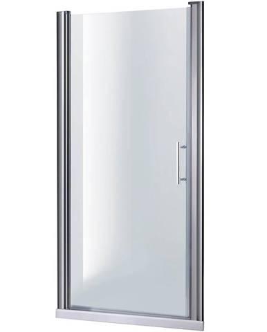 Sprchové Dveře Samos 100x190 Průhledné-Chrom