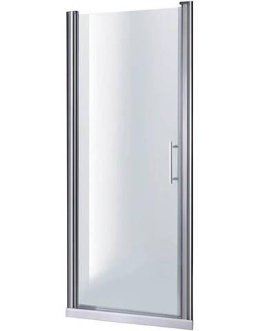 Sprchové Dveře Samos 80x190 Průhledné-Chrom