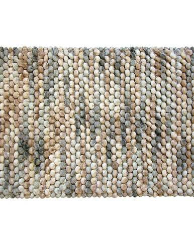 Kobereček Mosaic béžovo/šedý melír 50x80cm