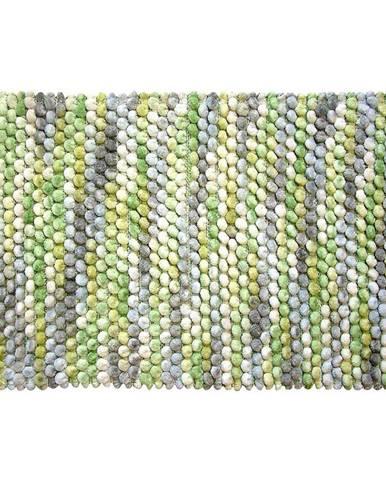 Kobereček Mosaic zelený melír 50x80cm