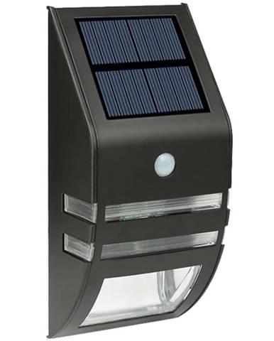 Solární svítidlo LED  s pohybovým čidlem černé TR 618