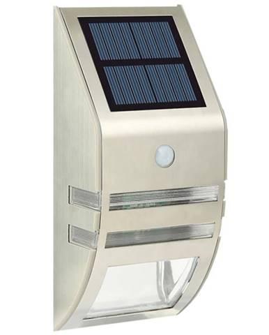 Solární svítidlo LED  s pohybovým čidlem stříbrné TR 619