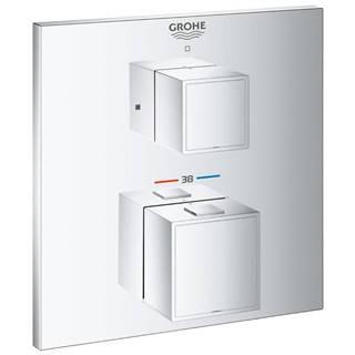 Baterie sprchová/vanová termostatická podomítková GROHTHERM CUBE 24153000