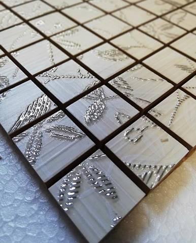 Mozaika Tanaka dekor cream 30/30 (2,5/2,5)