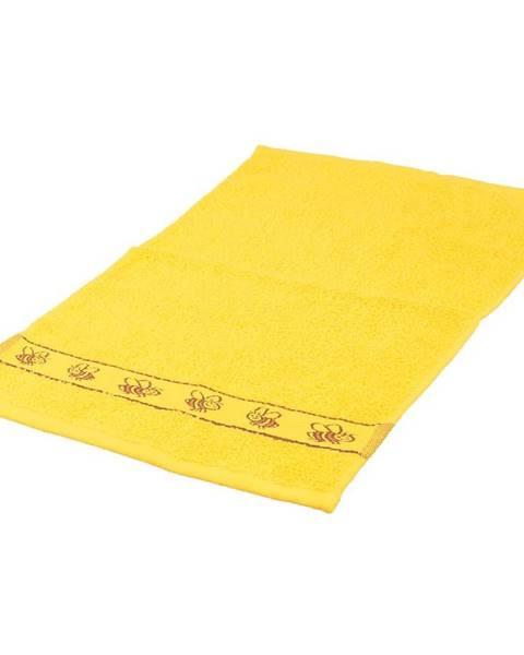 VESNA Ručník kids žlutý 30x50 420g/m2
