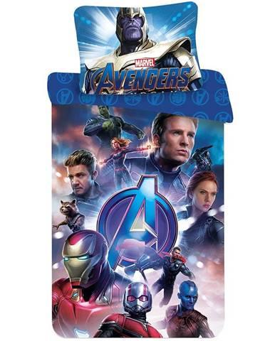Povlečení bavlna 70x90/140x200 Avengers endgame