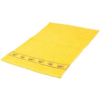 Ručník kids žlutý 30x50 420g/m2