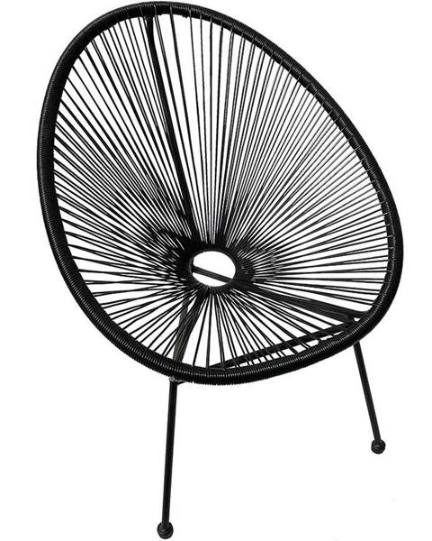 BAUMAX Židle Ibiza Černá