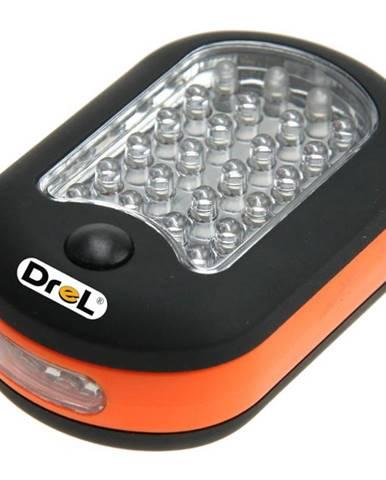 Přenosná lampa oval (2V1) 24+3 DIOD LED