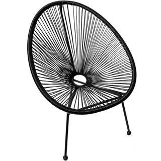 Židle Ibiza Černá