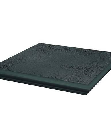 Dlažba mrazuvzdorná schodová Semir grafit NAR KAP 33/33
