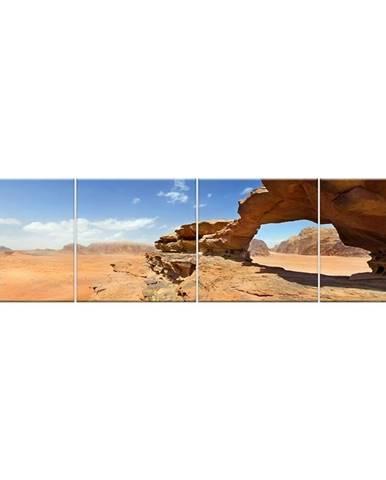 Skleněný panel 60/240 Desert-1 4-Elem