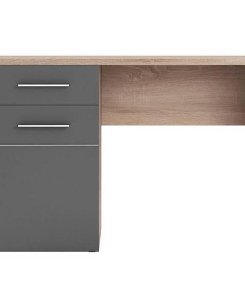 BAUMAX Psací Stůl Titto 120 cm Antacyt/Dub Sonoma