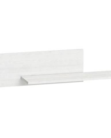 Polička Blanco 92 cm, borovice sněžná