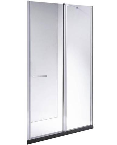 Sprchové dveře Milos 110/195 čiré sklo 6MM
