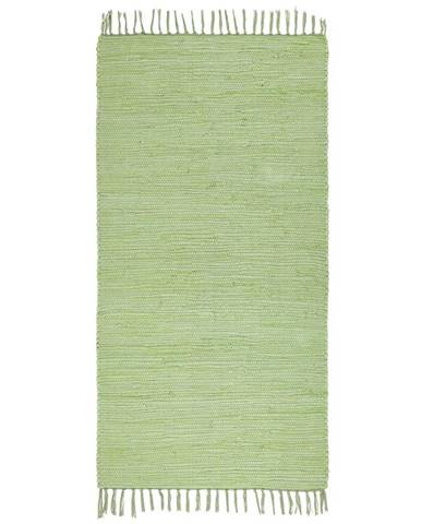 Hadrový Koberec Julia 2, 70/130cm, Sv. Zelená
