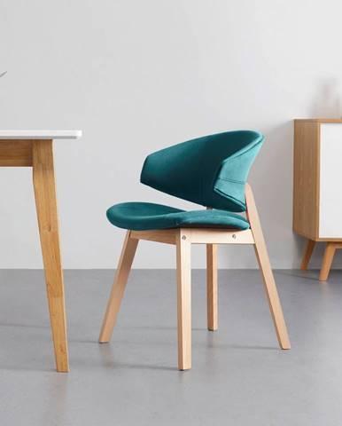 Jídelní Židle Nora Zelená