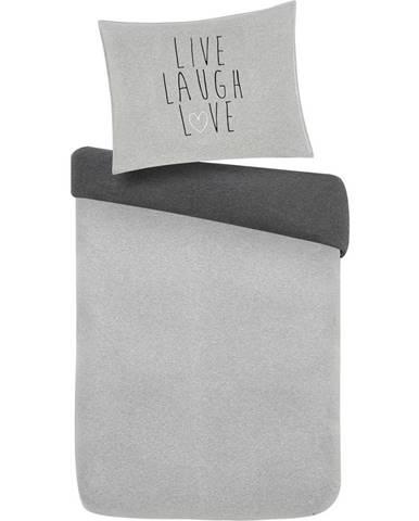 Povlečení Live Laugh Love Wende, 140/200