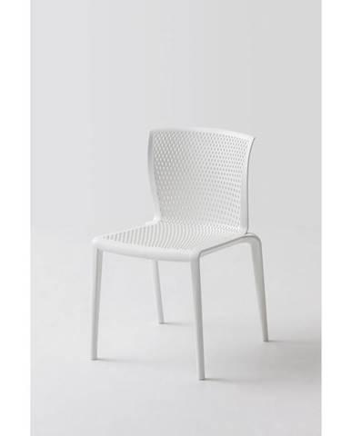 Plastová Židle Spiker Bílá 4ks