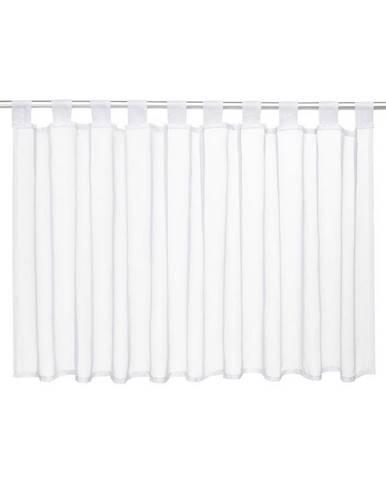 Záclona Krátká Hanna, 145/50 Cm, Bílá